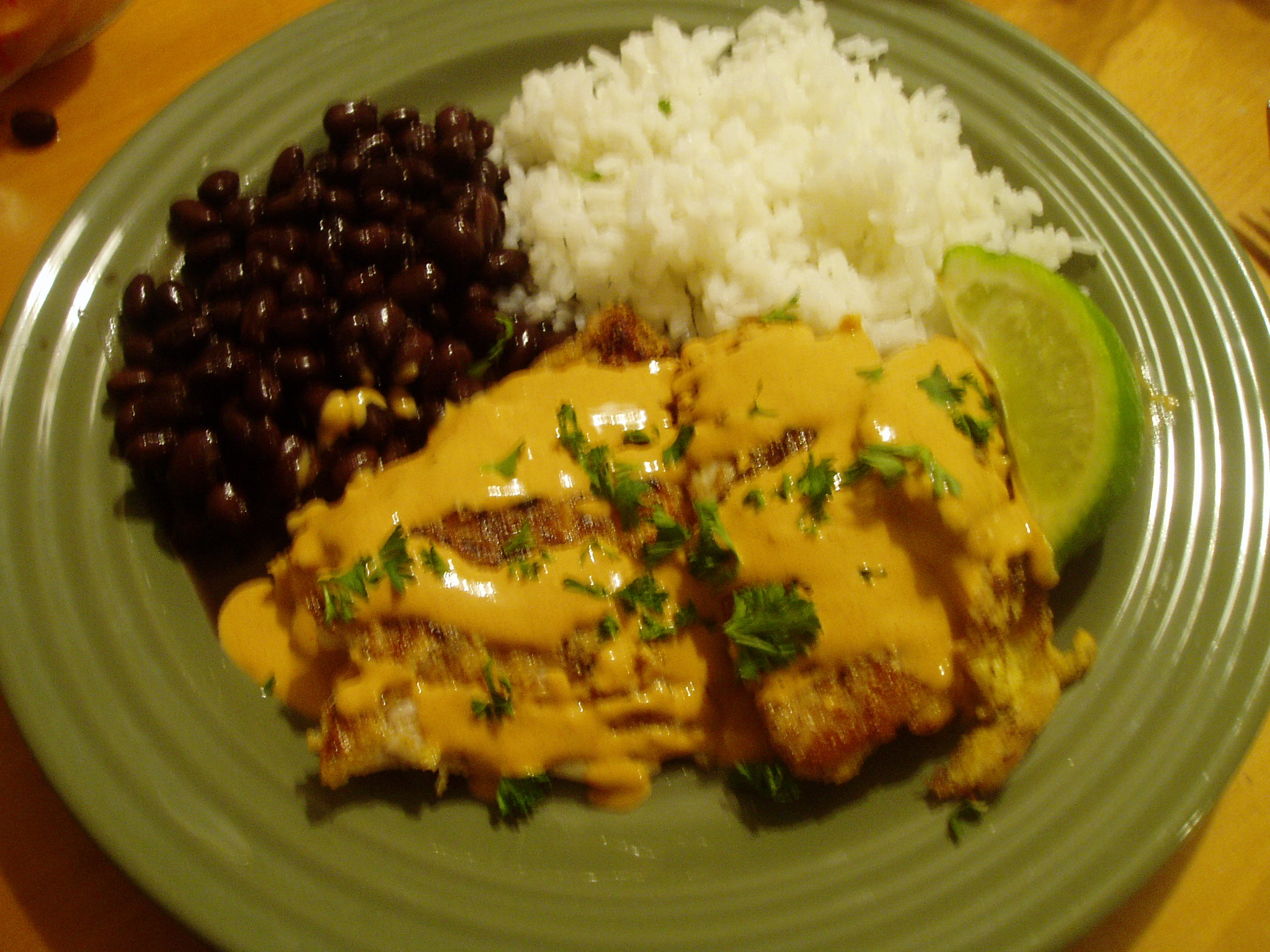 Recipe tilapia with chili cream sauce coolestfamilyever for Fish sauce recipes