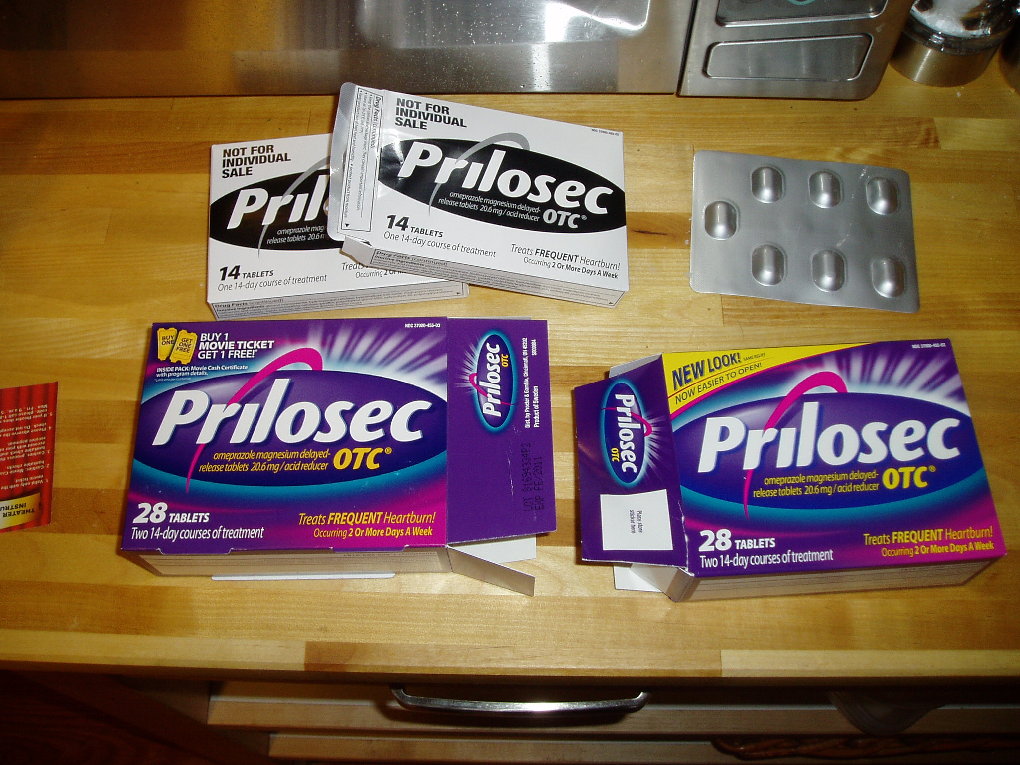 Dumb Prilosec Packaging