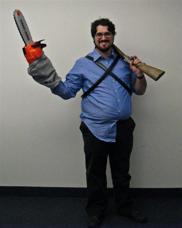 Jesse as Ash from Army of Darkness